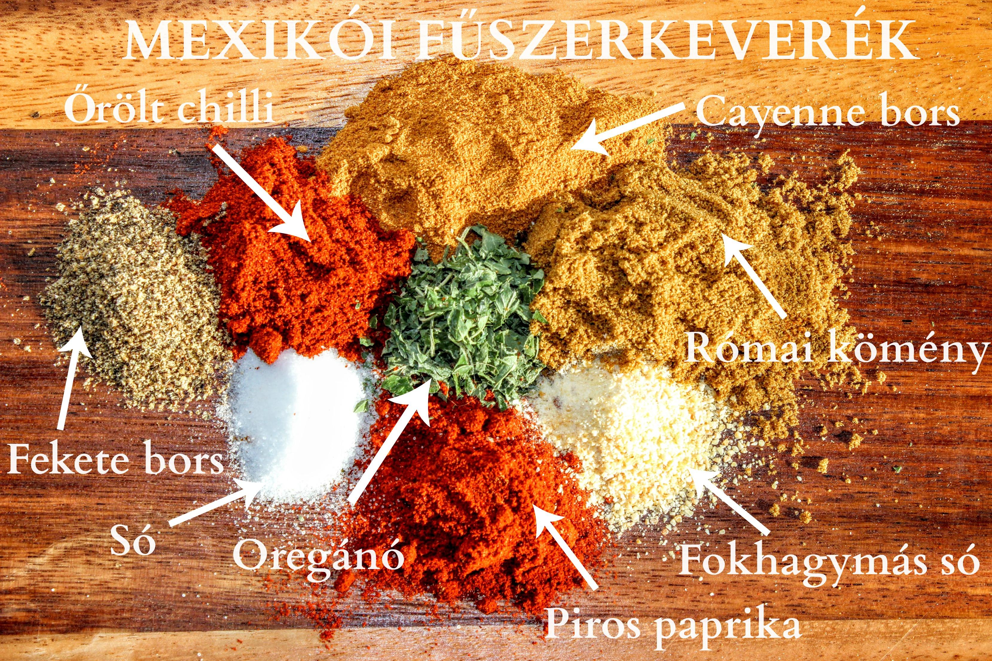 Mexikói fűszerkeverék házilag