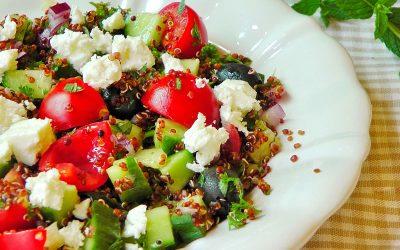 Görög saláta quinoával