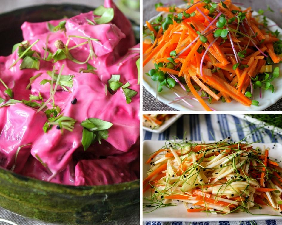 3 villámgyors téli saláta