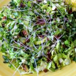 Fodros kel és kelbimbó saláta