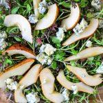 körte kéksajt saláta