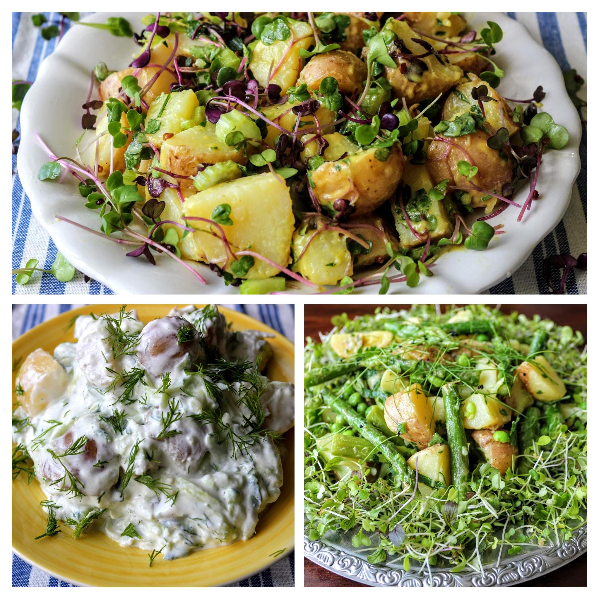7 tavaszi saláta az évszak legfinomabb zöldségeiből
