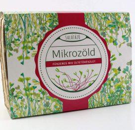 mikrozöld ültetőcsomag fűszeres
