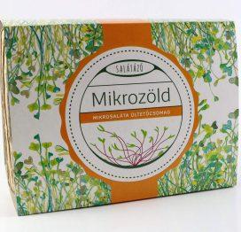 mikrozöld ültetőcsomag saláta