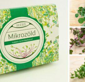 mikrozöld turmix ültetőkészlet